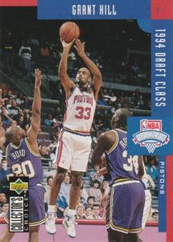 1994-95 Collector's Choice International French #409 Grant Hill DC