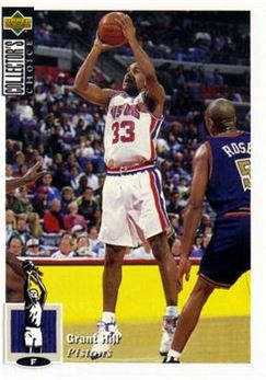 1994-95 Collector's Choice International French #429 Grant Hill