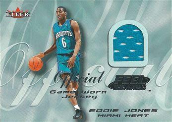 2000-01 Fleer Feel the Game #12 Eddie Jones