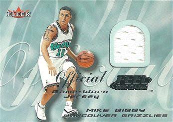 2000-01 Fleer Feel the Game #2 Mike Bibby