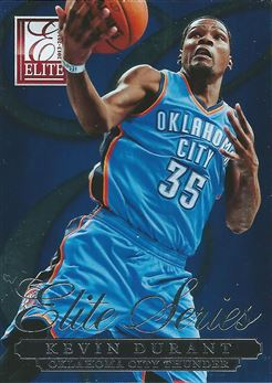2013-14 Elite Series Inserts #1 Kevin Durant (Thunder)