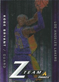 2013-14 Pinnacle Z-Team #1 Kobe Bryant (Lakers)