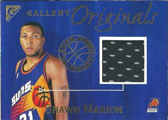 1999-00 Topps Gallery Originals #GO2 Shawn Marion (Suns)