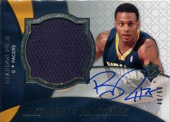 Basketbal 2008-09 Bowman Draft Picks & Stars Chrome #134 NBA Rookie Card George Hill RC