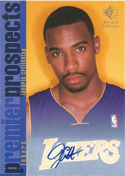 2007-08 SP Rookie Edition 1996-97 SP Rookie Autographs #119 Javaris Crittenton (Lakers)