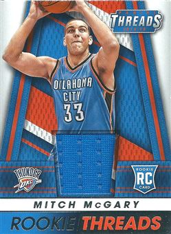 2014-15 Panini Threads Rookie Threads #55 Mitch McGary (Thunder)