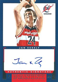 2012-13 Panini Rookie Signatures #31 Jan Vesely (Wizzards)