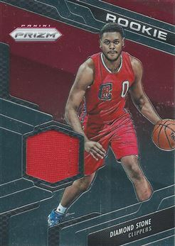 2016-17 Panini Prizm Rookie Jerseys #36 Diamond Stone (Clippers)