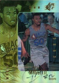 1999-00 SPx #103 Corey Maggette AU/500 RC