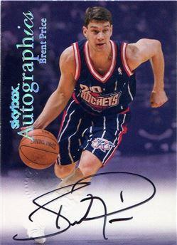 1999-00 SkyBox Premium Autographics #89 Brent Price