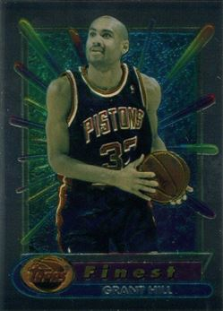 1994-95 Finest #240 Grant Hill RC (Pistons)