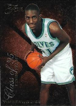 1995-96 Flair Class of '95 #R2 Kevin Garnett (Timberwolves)