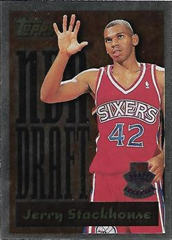 1995-96 Topps Draft Redemption #3 Jerry Stackhouse (76ers)