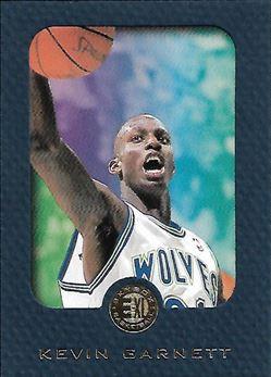 1995-96 E-XL Blue #49 Kevin Garnett (Timberwolves)
