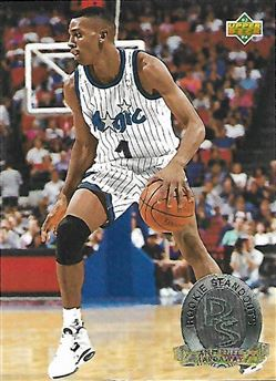 1993-94 Upper Deck Rookie Standouts #RS17 Anfernee Hardaway (Magic)