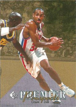 1994-95 SP #3 Grant Hill FOIL RC
