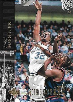 1993-94 Upper Deck SE Electric Court Gold #167 Jamal Mashburn (Mavericks)