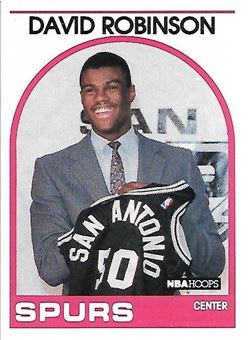1989-90 Hoops #138 David Robinson SP RC (Spurs)