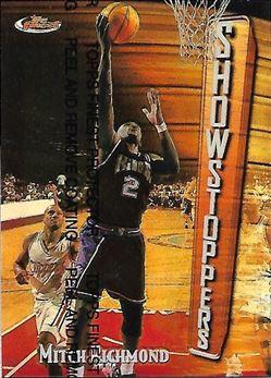 1997-98 Finest Refractors #180 Mitch Richmond B (Kings)