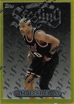 1996-97 Finest #278 Tim Hardaway G (Heat)