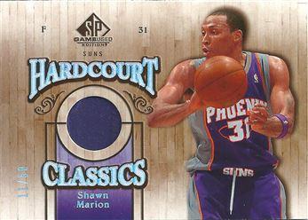 2007-08 SP Game Used Hardcourt Classics Patch #HCSM Shawn Marion (PURPLE)