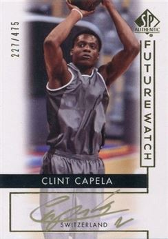 2014-15 SP Authentic #81 Clint Capela AU/475