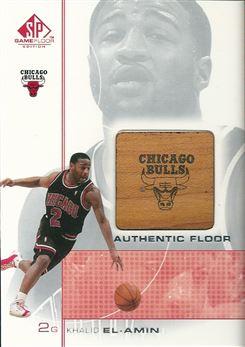 2000-01 SP Game Floor Authentic Floor #KE Khalid El-Amin