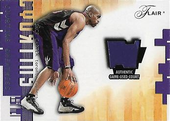 2001-02 Flair Courting Greatness #1 Vince Carter