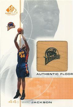 2000-01 SP Game Floor Authentic Floor #MA Marc Jackson