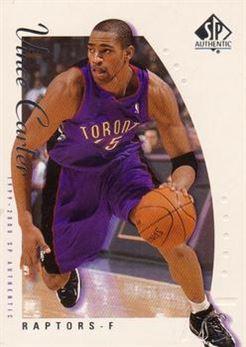 1999-00 SP Authentic #79 Vince Carter