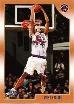 1998-99 Topps #199 Vince Carter RC