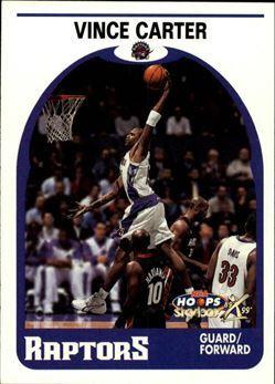 1999-00 Hoops Decade #49 Vince Carter