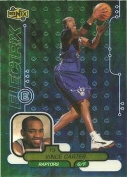 1998-99 UD Ionix #65 Vince Carter RC