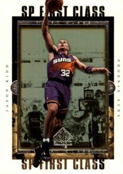1999-00 SP Authentic First Class #FC7 Jason Kidd