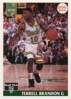 1991 Front Row #41 Terrell Brandon