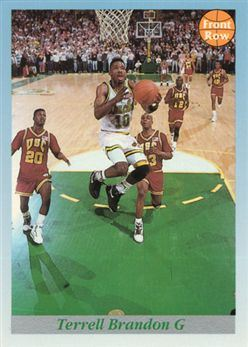 1991-92 Front Row Premier #114 Terrell Brandon