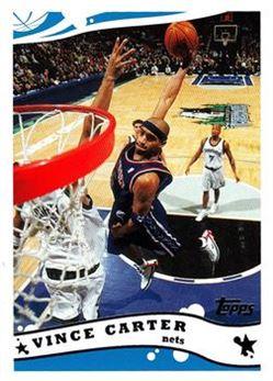 2005-06 Topps #15 Vince Carter