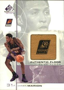2000-01 SP Game Floor Authentic Floor #SH Shawn Marion
