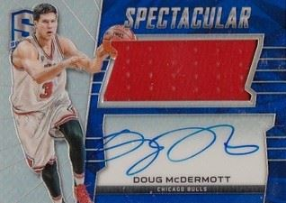 Doug McDermott 15/16 Panini Spectra Spectacular Swatches Signatures SS-DMC (104/149)