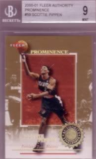 2000-01 Fleer Authority Prominence 75/25 #59
