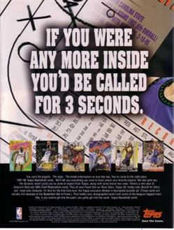 1997-98 Topps Tradind Cards Ad