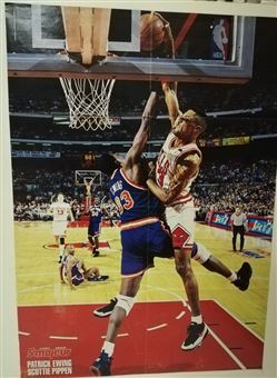 5 Majeur Poster Scottie Pippen Dunking on Ewing