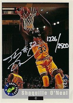 1992 Classic Promos Autograph #1