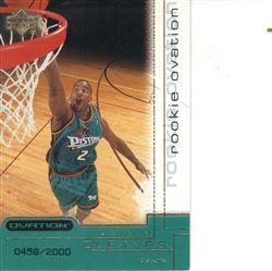 2000-01 Upper Deck Ovation #74 Mateen Cleaves RC