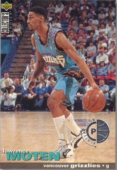 1995-96 Collector's Choice Player's Club Platinum #277 Lawrence Moten