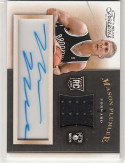 Timeless Treasures 13/14 #120 Miles Plumlee (ON CARD AU)