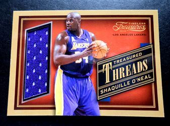 2013-14 Timeless Treasures Treasured Threads #1 Shaquille O'Neal