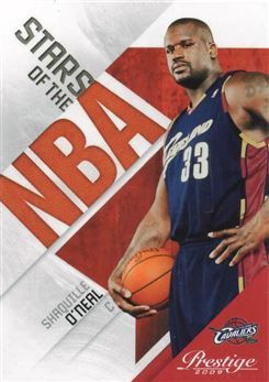 2009-10 Prestige Stars of the NBA #7 Shaquille O'Neal
