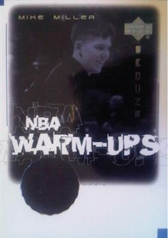 2000-01 Upper Deck Encore NBA Warm-Ups #MMW Mike Miller