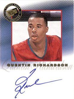 2002 Press Pass Pro Autographs #10 Quentin Richardson